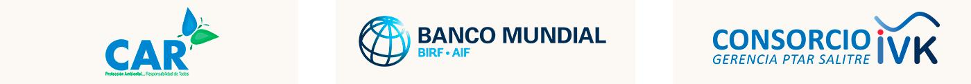 Logos CAR Banco Mundial IVK